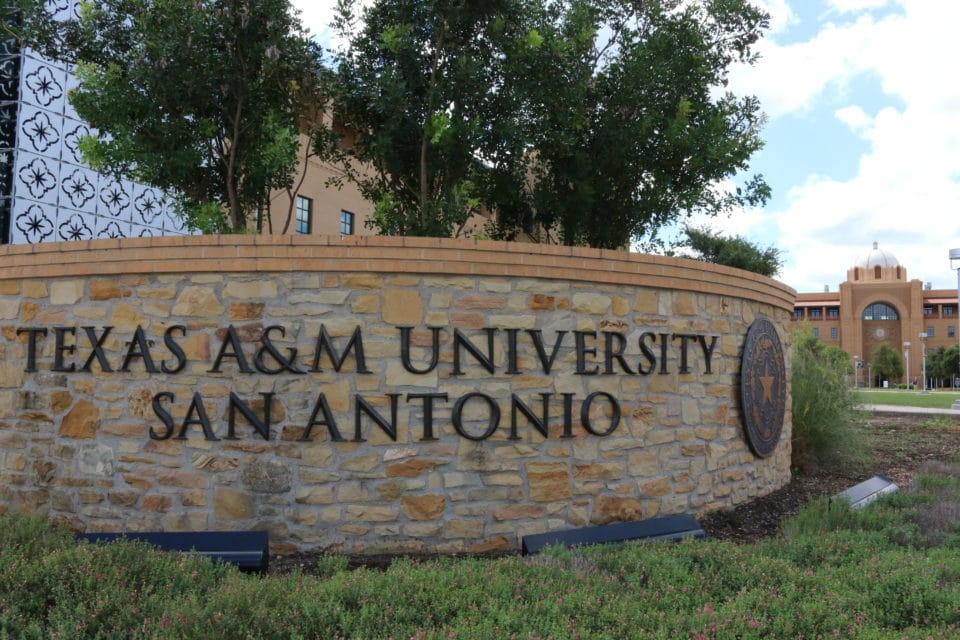 Texas A&M University-San Antonio_Entrance