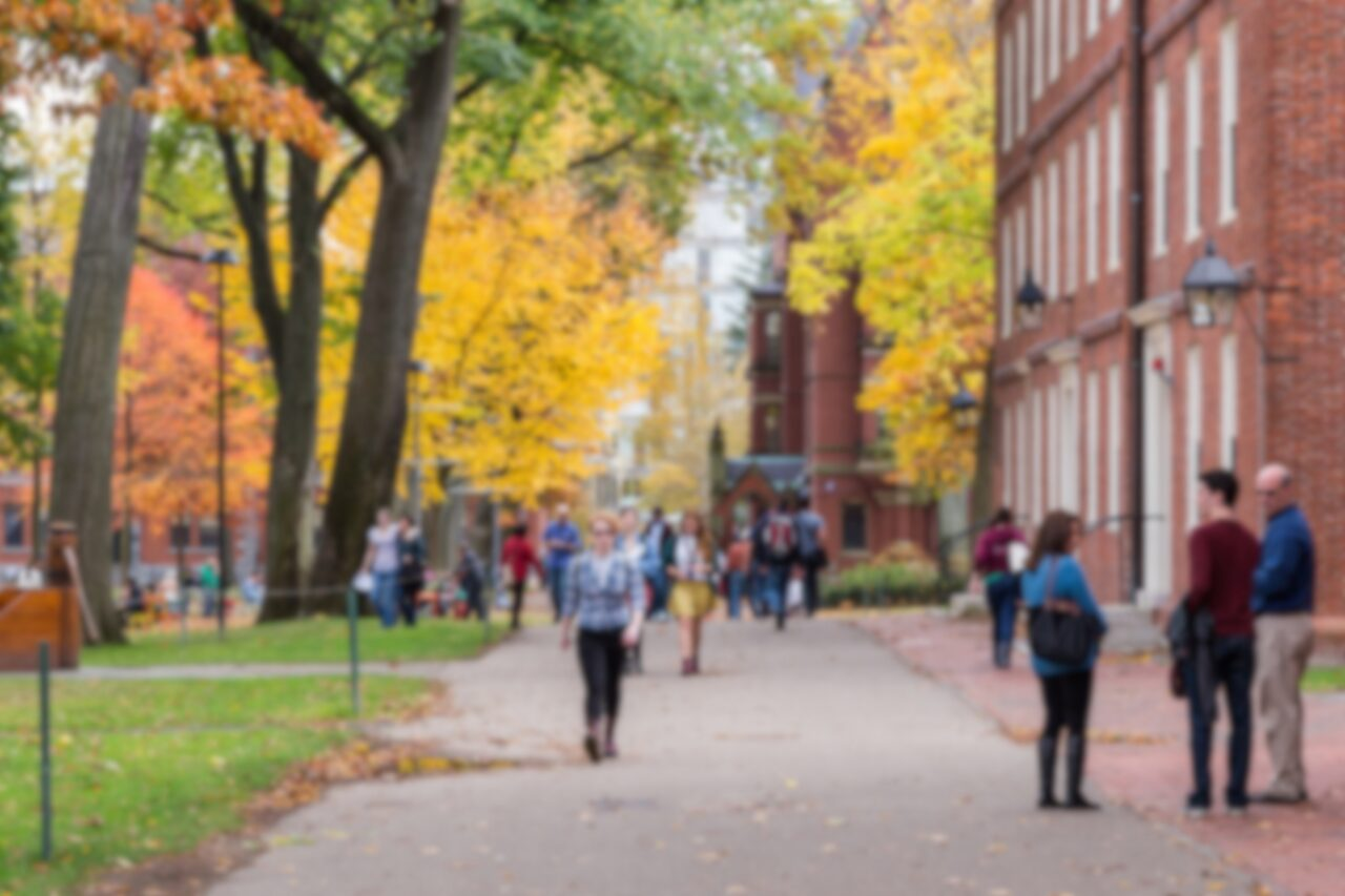 Students return to campus in the Fall.