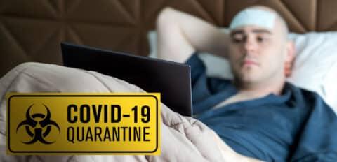 Patient in COVID-19 Quarantine