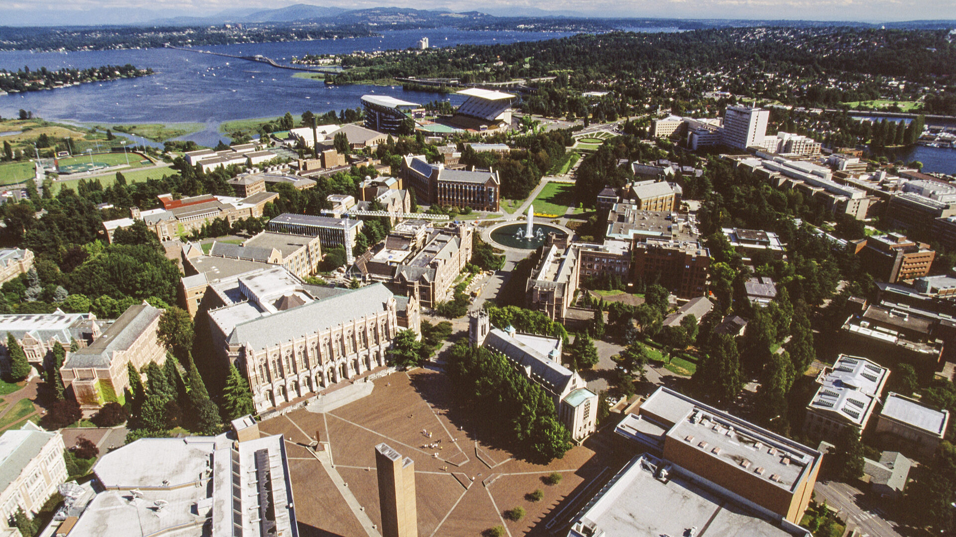 University of Washington Aerial View